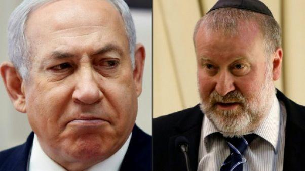 """Netanyahu dénonce une """"chasse aux sorcières"""" face à une possible inculpation"""