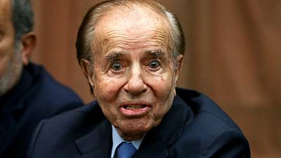 Argentine court clears ex-President Menem in Jewish bombing cover-up case