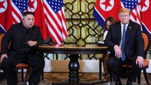 Kim Jong Un et Donald Trump à Hanoï le 28 février 2019