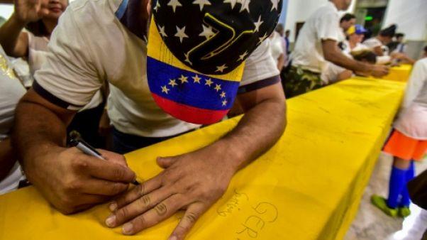 Sur l'île de Curaçao, des migrants vénézuéliens sans asile