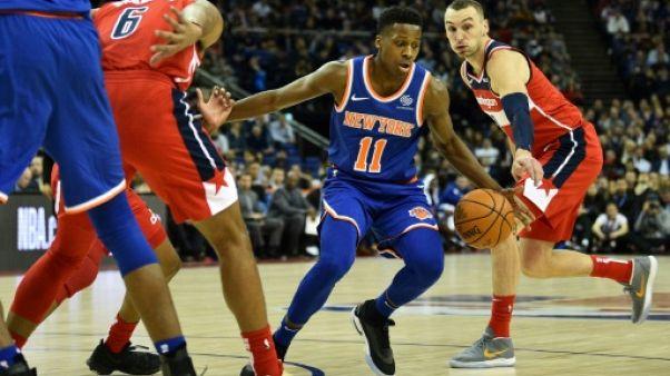 NBA: toujours pas de date pour le retour de Ntilikina des New York Knicks