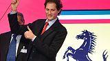 F1: Barcellona, J.Elkann in box Ferrari