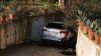 A fuoco auto consigliere sud Sardegna