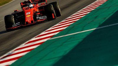 F1: Vettel in evidenza a Barcellona