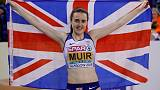 Muir and Johnson-Thompson take gold for Britain