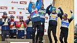 Mondiaux de ski nordique: du bronze pour les fondeurs français en relais