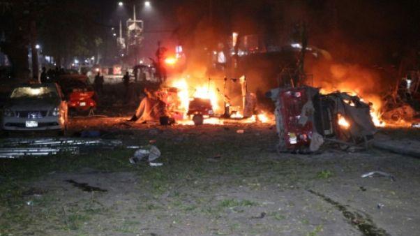 Explosion d'une voiture piégée à Mogadiscio, le 28 février 2019 en Somalie