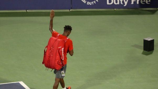 Tennis: Gaël Monfils cale en demies face à Tsitsipas à Dubaï