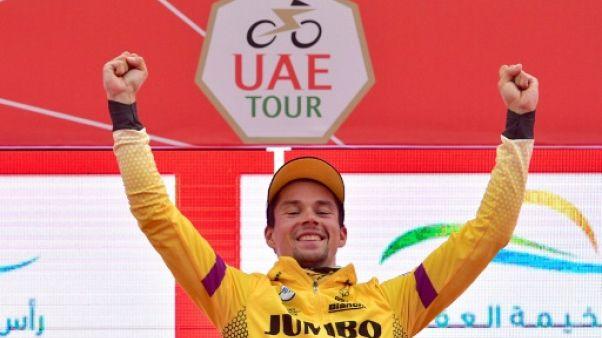 UAE Tour: Roglic enlève la 6e étape et augmente son avance sur Valverde