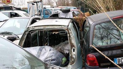 233 auto per finta, multe 500 euro l'una