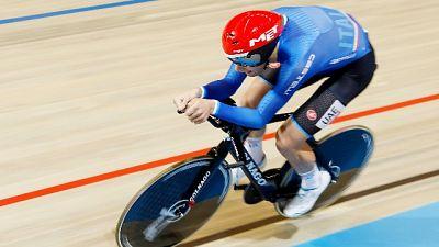 Ciclismo: mondiali pista, oro Ganna
