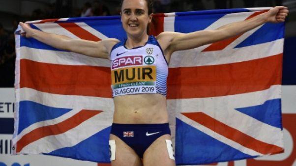 Euro d'athlétisme: Muir pose la première pierre