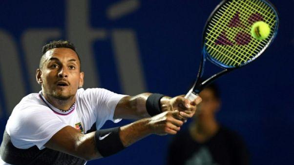 Tennis: Kyrgios rejoint Zverev en finale à Acapulco