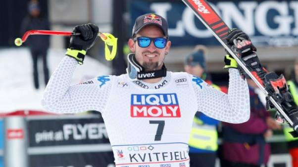 Ski alpin: Paris souverain sur la descente de Kvitfjell