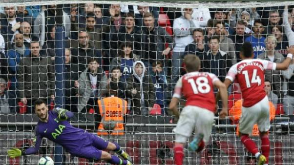 Angleterre: Tottenham cale encore contre Arsenal mais Lloris sauve un point