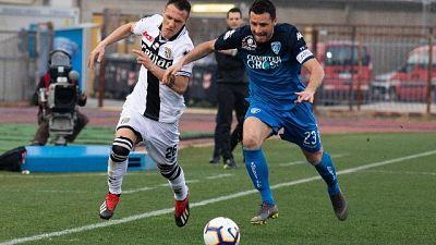 Serie A: Empoli-Parma 3-3
