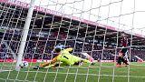 Mahrez strikes as Man City beat Bournemouth to go top
