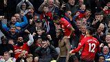 Lukaku shines as Man United rally to beat Southampton