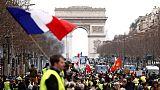 مسيرات السترات الصفراء بفرنسا تمر بدون عنف مع تراجع التوتر