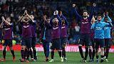 راكيتيتش يمنح برشلونة فوزا ثانيا في أربعة أيام في القمة أمام ريال