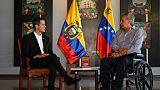 En Equateur, Juan Guaido reçoit le soutien du président Lenin Moreno