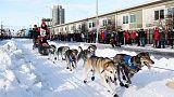 Iditarod sled dog race across Alaska starts with pageant, crowds