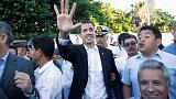 Venezuela's Guaido says he will return home after Ecuador visit
