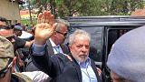 الرئيس البرازيلي السابق لولا يؤكد براءته خلال جنازة حفيده