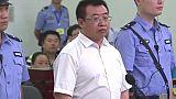 L'avocat chinois Jiang Tianyong devant un tribunal en 2017