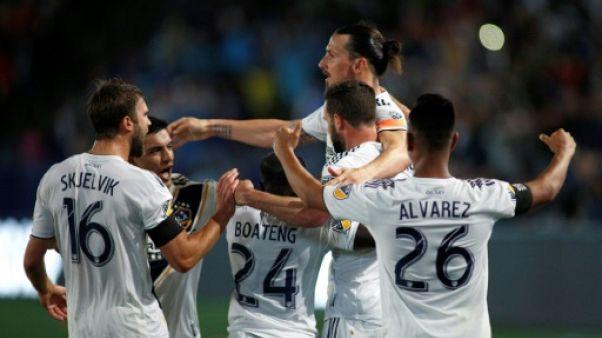 MLS: Ibrahimovic en sauveur du Los Angeles Galaxy