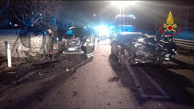 Due morti, arresto per omicidio stradale