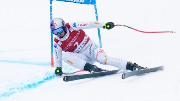 Ski alpin: Paris s'offre un doublé descente-super-G à Kvitfjell