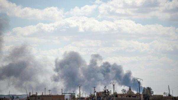 Déluge de feu sur la dernière poche de l'EI en Syrie