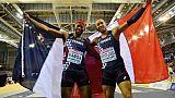 Euro d'athlétisme: deux Français sur le podium du 60 m haies