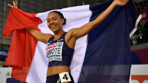 Euro d'athlétisme: Rénelle Lamote 2e du 800 m