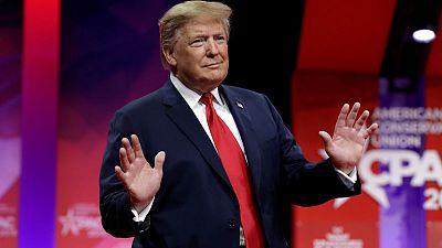 Trump says big U.S. savings in curbing joint South Korea military drills