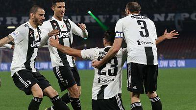 Serie A: Napoli-Juventus 1-2
