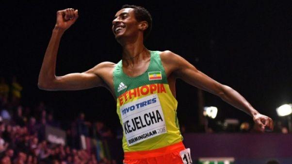 Athlétisme: record du monde du mile en salle pour l'Ethiopien Kejelcha