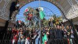 احتجاجات جديدة في الجزائر بعد تقديم أوراق ترشح بوتفليقة