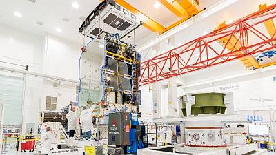 Successful mating of Eutelsat's KONNECT satellite payload with its all-electric platform to cover Western Europe and Africa'