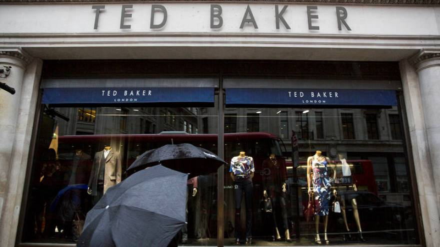 98dcbe234 Ted Baker CEO resigns after hugging row