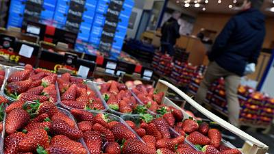 Euro zone producer prices rise slightly faster than expected in January