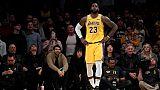 NBA: LeBron James a un mois pour sauver les Lakers