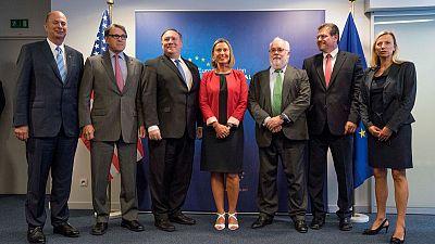 U.S. returns higher diplomatic status to EU's Washington mission
