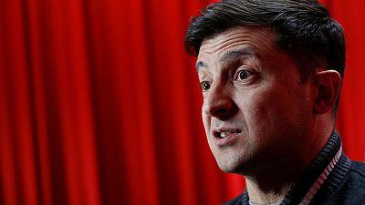 Comedian Zelenskiy dashes ahead in Ukrainian presidential race
