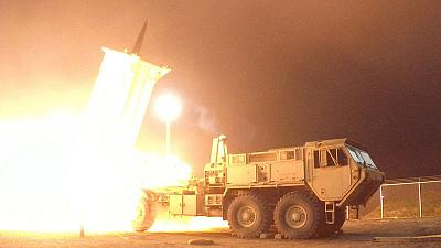 U.S. says deployed THAAD missile defence system to Israel