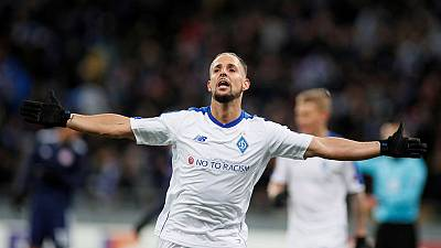 Dynamo Kiev's Sol out of Chelsea game with shoulder injury