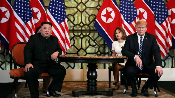Trump: didn't discuss military drills in meetings with North Korea's Kim