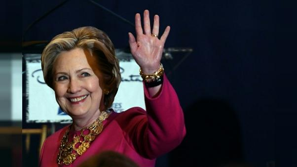 Hillary Clinton le 16 février 2017 à New York