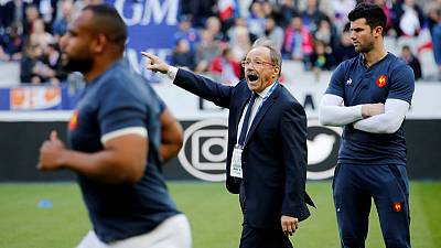 Rugby - France rely on young halfbacks again for Ireland game